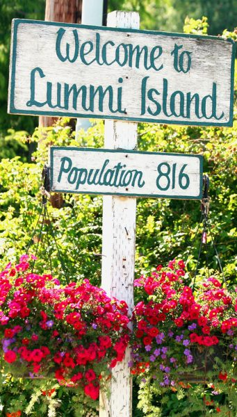 Cheryl_Bacchus_Welcome_Sign_Lummi_Island
